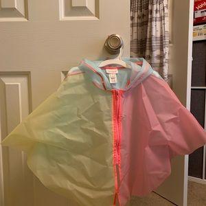Toddler rain cape